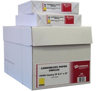 Singles Coated Front & Back Carbonless Paper