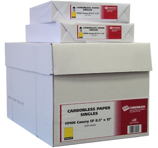 Singles Coated Front Carbonless Paper