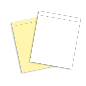 2 Part Snap-Perf Carbonless Paper