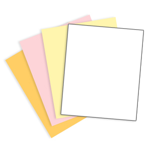 4 Part Carbonless Paper