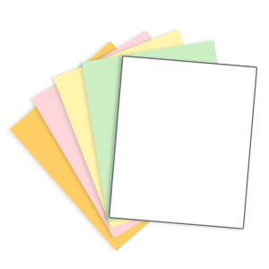 5 Part Carbonless Paper