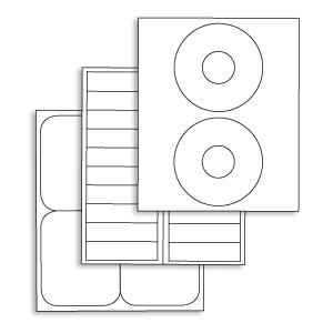 Labels - Die Cut Sheets