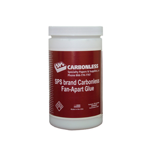 SPS Carbonless Fan Apart Adhesive
